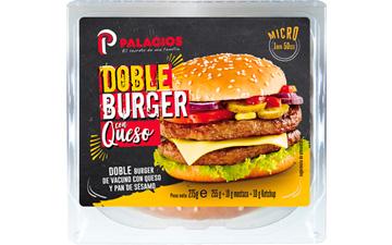 Hambúrguer duplo com queijo